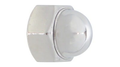 Stainless Steel Dome Nut  2 piece