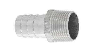 Stainless BSP Male Hosetail