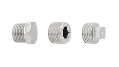 Stainless BSP Plugs
