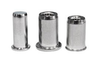 Stainless Threaded Inserts (Rivet Inserts)