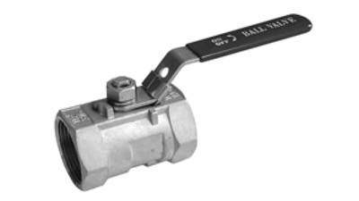 Stainless BSP 1 Piece Ball Valve