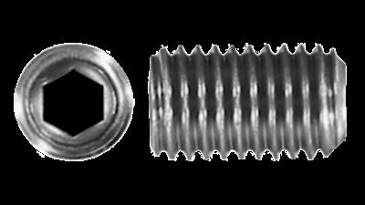 Stainless Imperial Metric Grub Screw