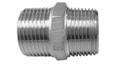 Stainless Steel Bsp Hex Nipple 316