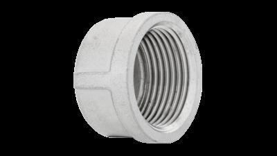 Stainless Steel Bsp Round Cap 316