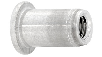 Aluminium Rimmed Threaded Insert