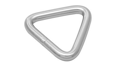 Stainless Triangle Ring