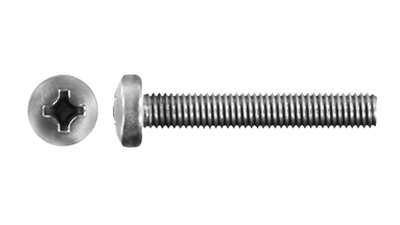 Stainless Pan Philips Machine Screw