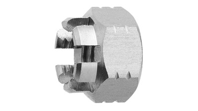 Stainless Castle Nut