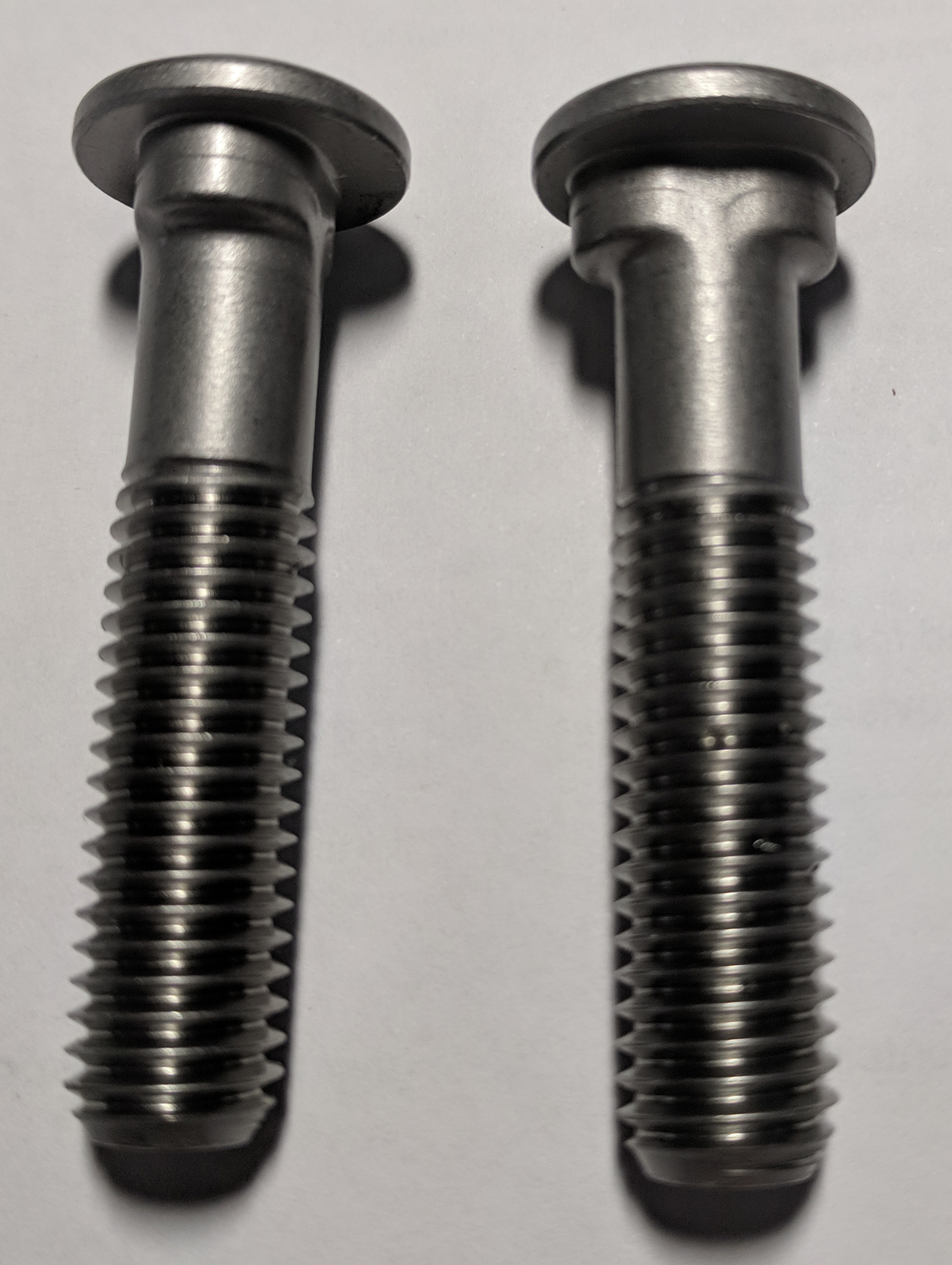 Stainless Duplex Custom Track Bolts
