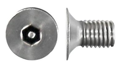 Stainless Csk Socket Post Machine Screw